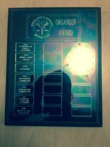 organiser award